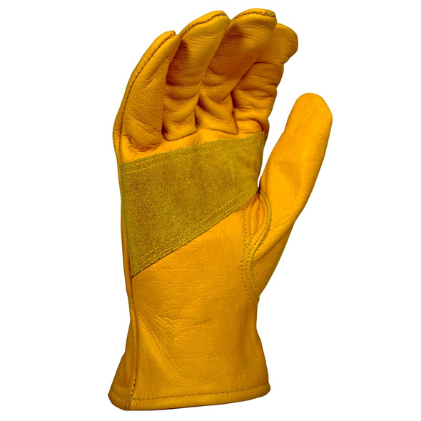 DeWALT Box of 12 Premium Leather Driver Work Gloves DPG32 Palm