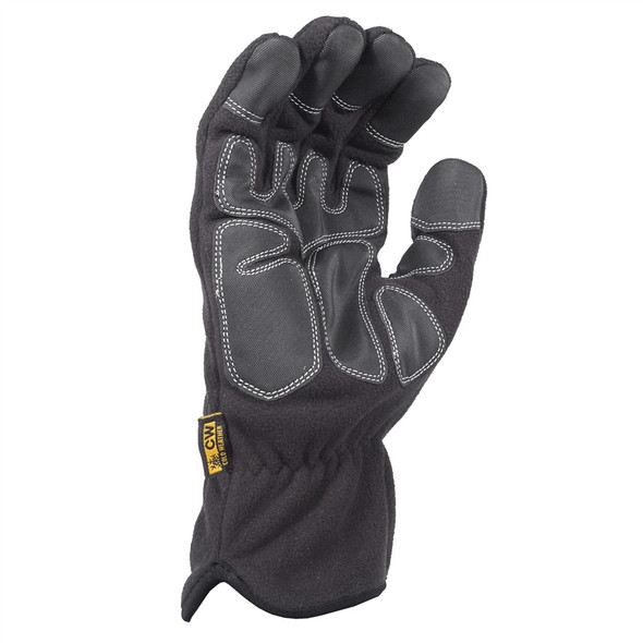 DeWALT Box of 12 Pair Fleece Cold Weather Work Gloves DPG740 Palm