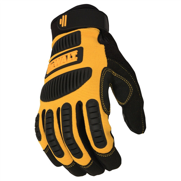 DeWALT Box of 12 Mechanic Work Gloves DPG780 Top