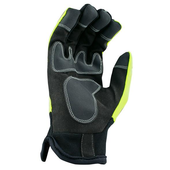 DeWALT Box of 12 Hi-Viz Work Gloves DPG870 Palm