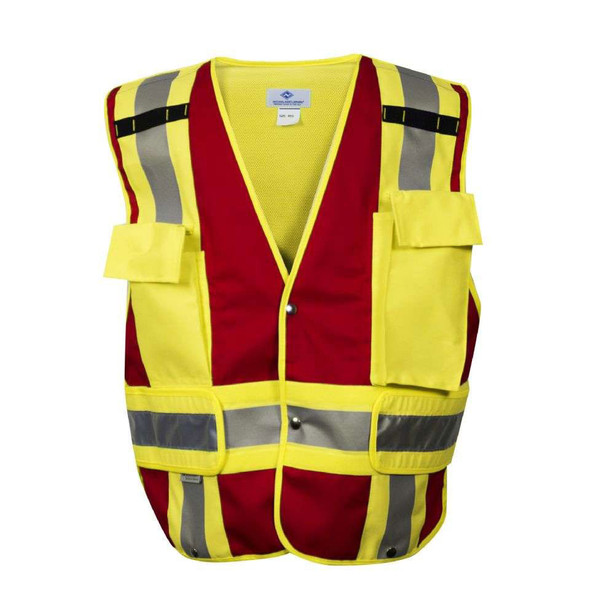 NSA Class 2 Hi Vis Pros Choice Public Safety Vest VNT8383