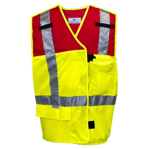 NSA Class 2 Hi Vis Break-Away Public Safety Vest VNT9114 Front