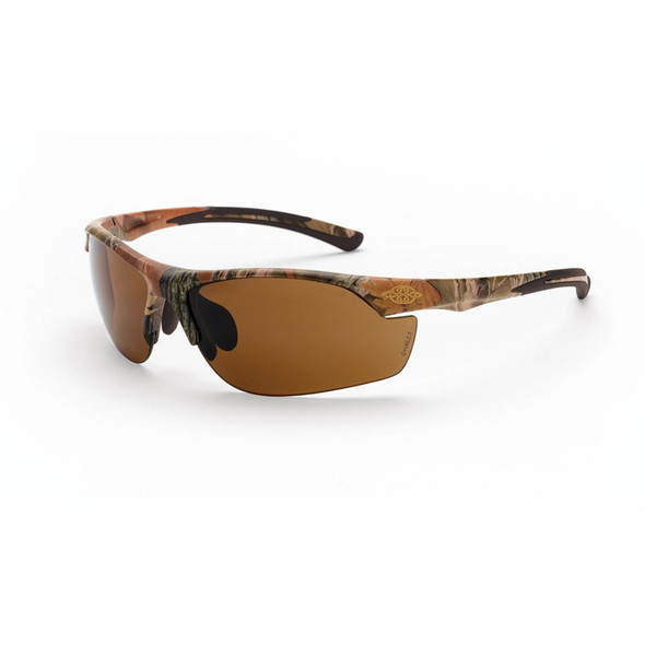 Crossfire AR3 Woodland Brown Camo HD Brown Lens Safety Glasses 16146 - Box of 12