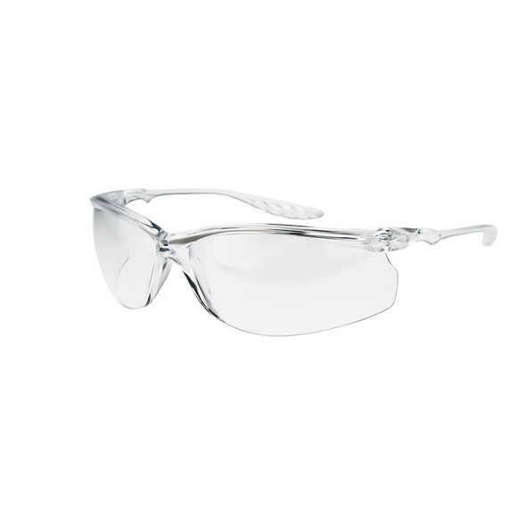 Crossfire 24Seven Crystal Clear Frame Clear Lens Safety Glasses 3754 - Box of 12