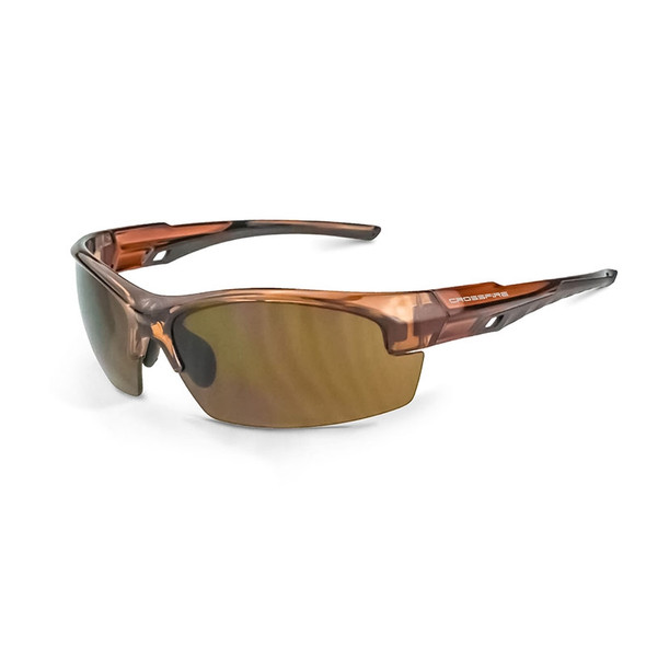 Crucible HD Brown Lens Crystal Brown Frame 40117