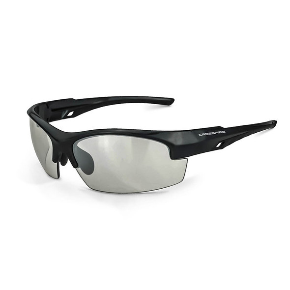 Crucible Crystal Black Frame Indoor/Outdoor Lens Glasses 40412