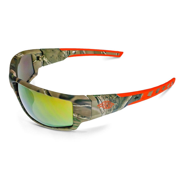 Cumulus Camo Frame Gold Mirror Lens Glasses 411432 Box of 12
