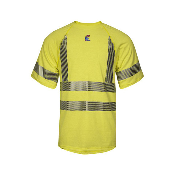 NSA FR Class 3 Hi Vis Moisture Wicking Made in USA T-Shirt BSTJTRC3