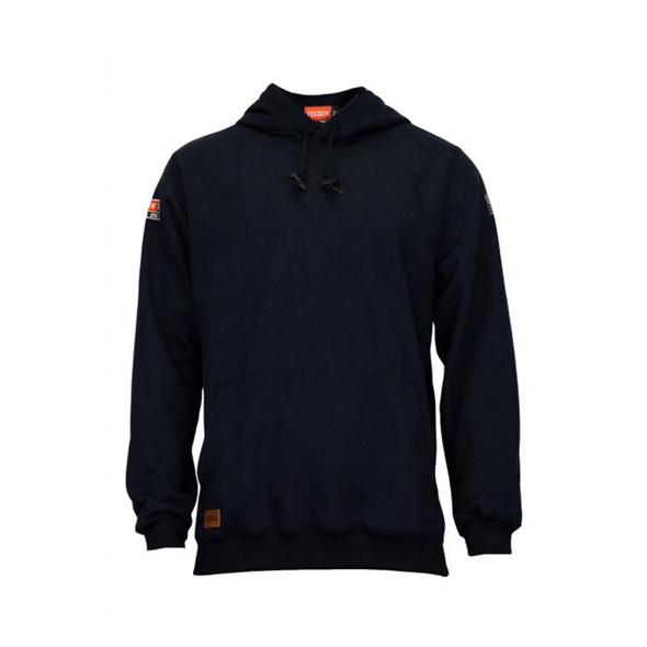 TECGEN FR Pullover Navy Hoodie SWSI2 Front