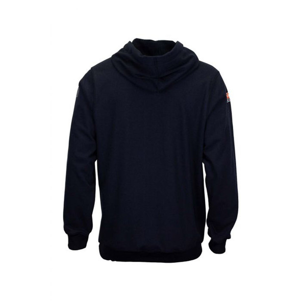 TECGEN FR Pullover Navy Made in USA Hoodie SWSI2 Back