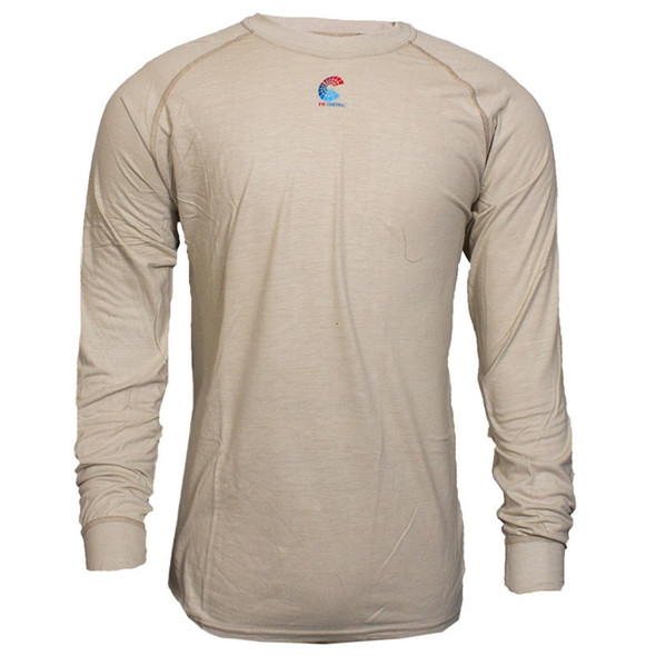 NSA FR NFPA 70E Made in USA Long Sleeve Base Layer T Shirt C52JKSRLS