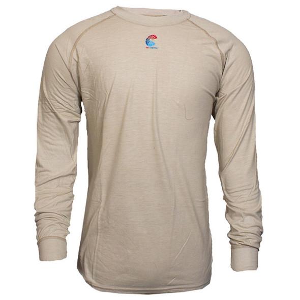 NSA FR NFPA 70E Made in USA Long Sleeve Base Layer T Shirt C52JKSRLS