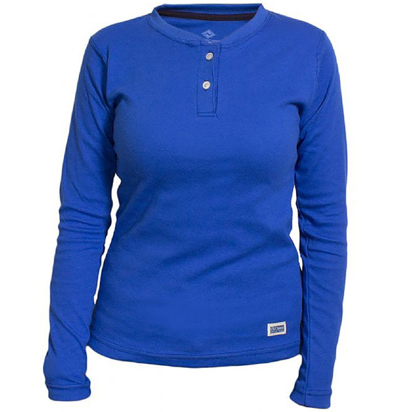 NSA Womens FR NFPA 70E Cotton Henley C54MSBSLSW