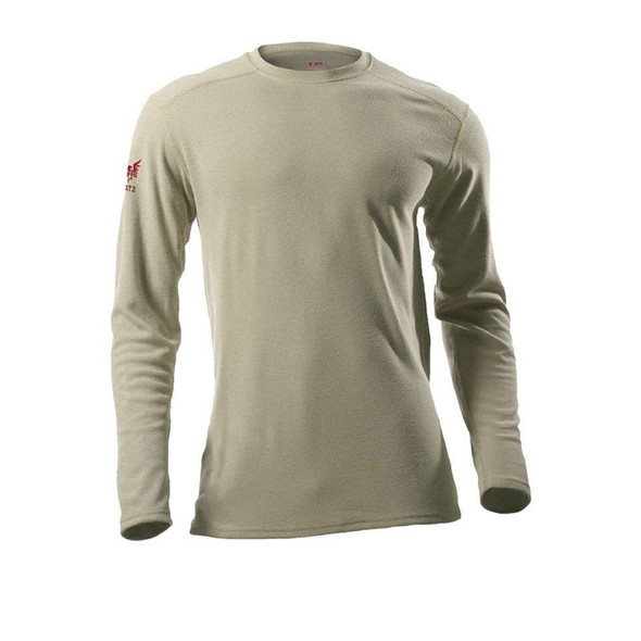 DriFire FR Moisture Wicking Made in USA Long Sleeve T-Shirt DF2-CM-265ALS Desert Sand