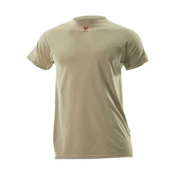 DriFire FR Lightweight Made in USA Short Sleeve T-Shirt DF2-CM-446TS Tan