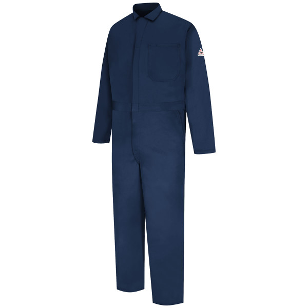 Bulwark FR EXCEL Classic Coveralls CEC2 Navy Front