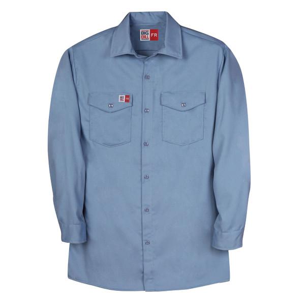 Big Bill FR Westex UltraSoft Work Shirt TX231US7 Light Blue