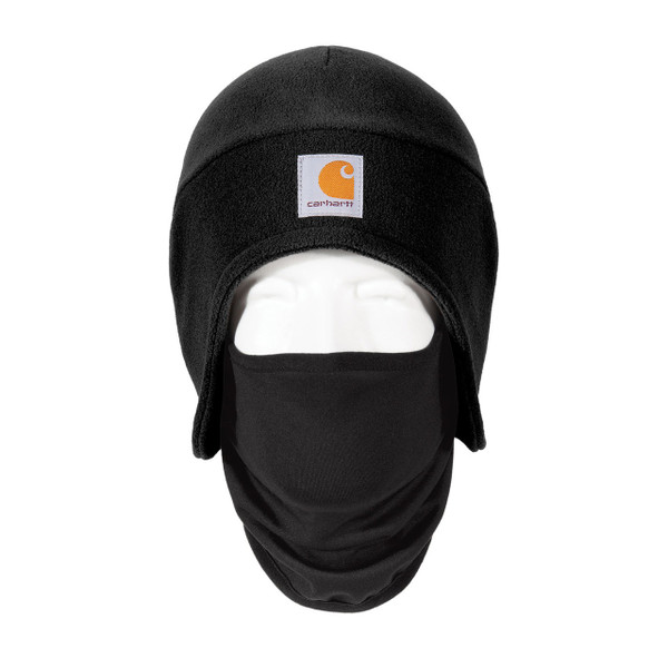 Carhartt 2 in 1 Cold Weather Hat CTA202 Black Front