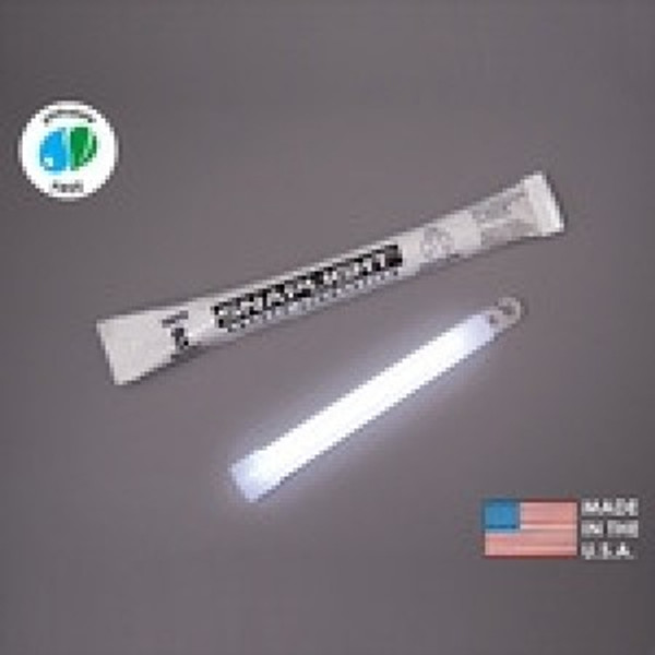 Cyalume Box of 100 White Glow Sticks 9-08006