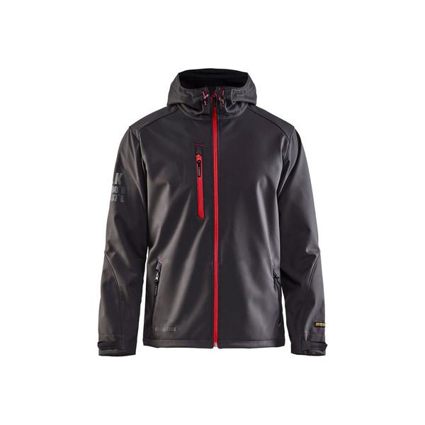 Blaklader US Pro Softshell Jacket 493925179756 Dark Grey Front