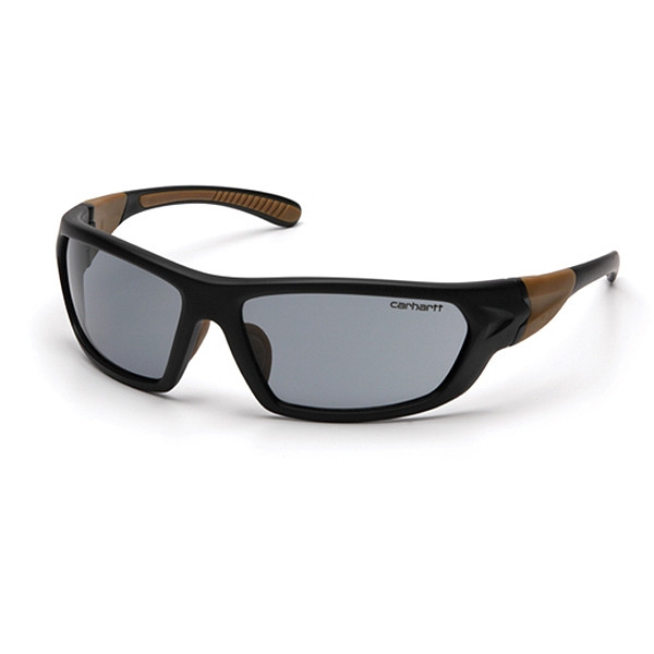 Carhartt Box of 12 Carbondale Anti Fog Gray Lens Safety Glasses CHB220DT