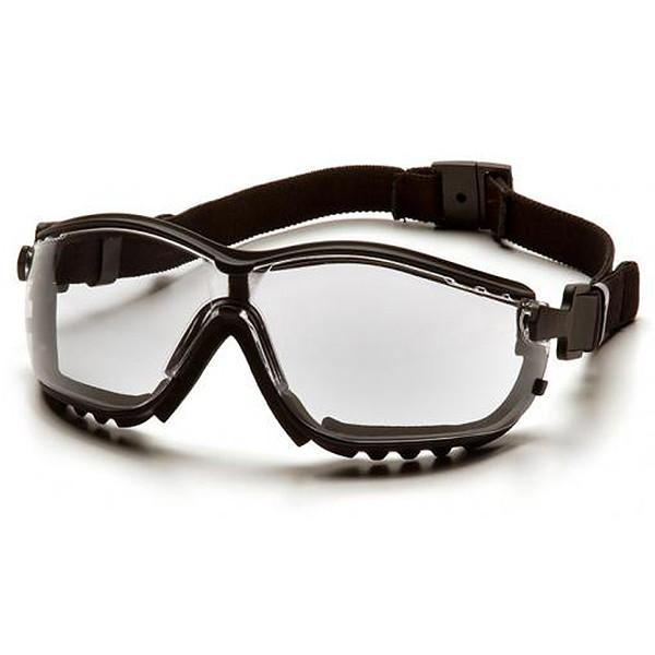 Box of 12 Pyramex V2G Anti Fog Clear Lens Safety Goggles GB1810ST