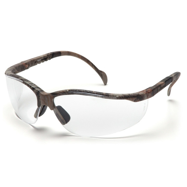 Box of 12 Pyramex Venture II Scratch Resistant Clear Lens Safety Glasses SH1810S Side