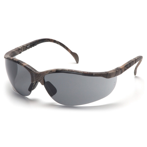 Box of 12 Pyramex Venture II Gray  Lens Safety Glasses SH1820S Side