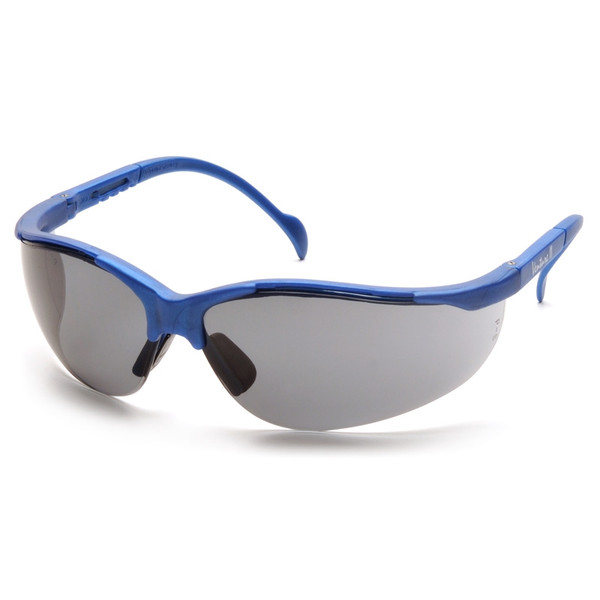Box of 12 Pyramex Venture II Gray Lens Safety Glasses SMB1820S Side