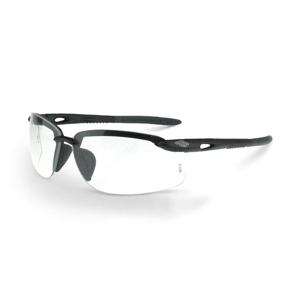 Crossfire ES5W 1224W Safety Glasses - Clear Lens - Box of 12 - ES5W-1224W