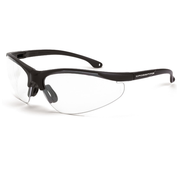 Crossfire Brigade 1734 Clear Safety Glasses - Box of 12