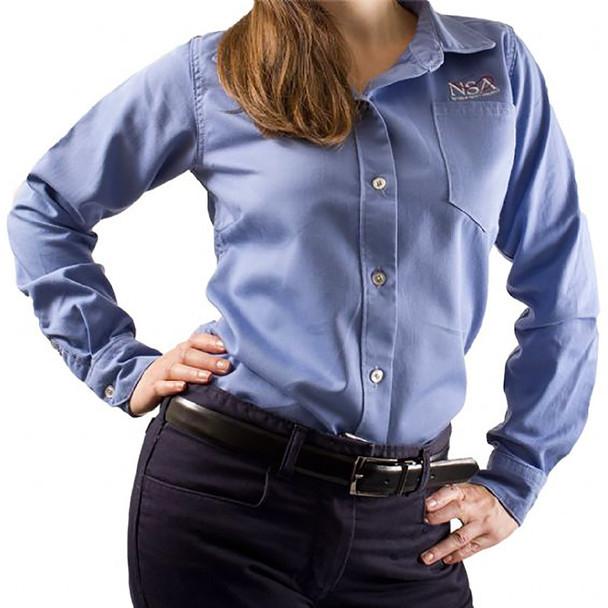 NSA Womens FR Protera Made in USA Button Down Shirt SHRLERGW