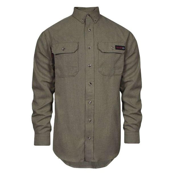 TECGEN FR Moisture Wicking Made in USA Work Shirt TCG011