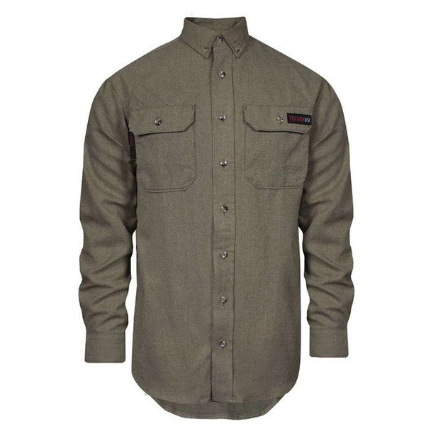 TECGEN FR Clothing Moisture Wicking Made in USA Work Shirt TCG011