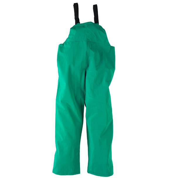 Neese ASTM F903 I96S Green Economy Industrial Chem Splash 3 Piece Rain Suit 10096-55 Bib Pants