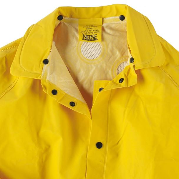 Neese 1600S Non-ANSI Hi Vis 3 Piece Economy Rain Suit 10160-55 Collar