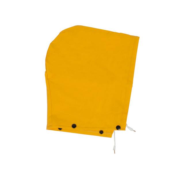 "Neese Non-ANSI Hi Vis Yellow 1790C 60"" Full Length Raincoat with Snap On Hood 10179-31 Hood"