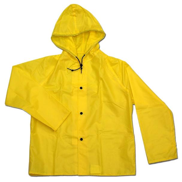 Neese Non-ANSI Hi Vis Yellow 275AJ Tuff Wear Rain Jacket 27001-00