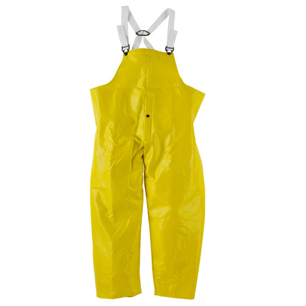 Neese Dura Quilt Yellow Industrial Bib Trouser with Safety Fly 56001-13 Front