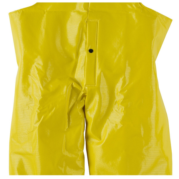 Neese Dura Quilt Yellow Industrial Bib Trouser with Safety Fly 56001-13 Fly