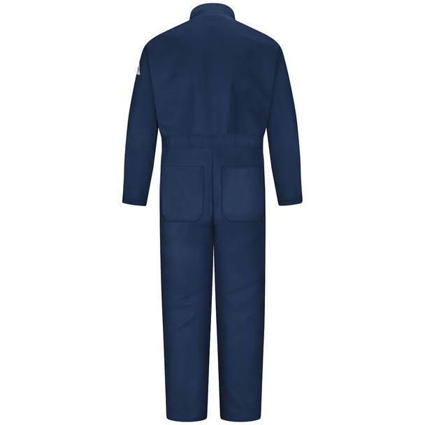 Bulwark FR EXCEL Classic Coveralls CEC2 Navy Back