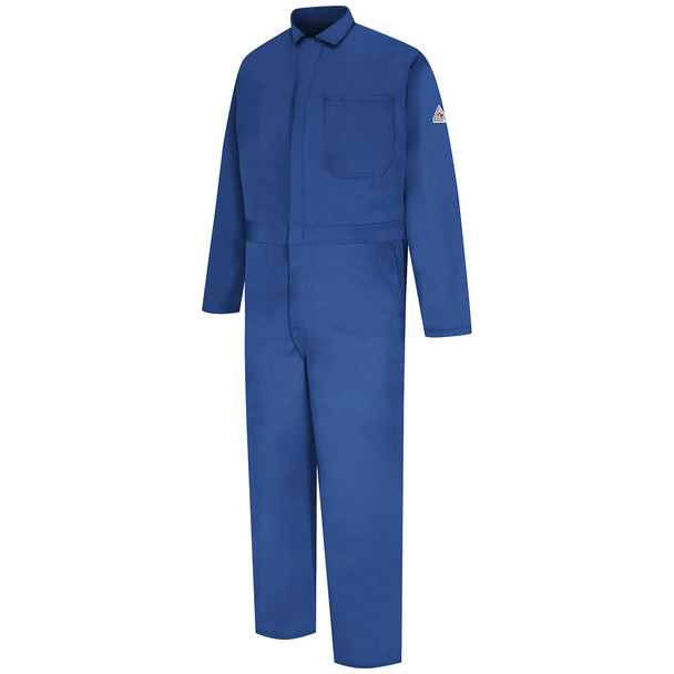 Bulwark FR EXCEL Classic Coveralls CEC2 Royal Front
