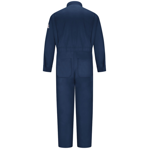 Bulwark FR Excel Classic Coveralls CED2 Navy Back