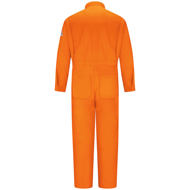 Bulwark FR Excel Classic Coveralls CED2 Orange Back