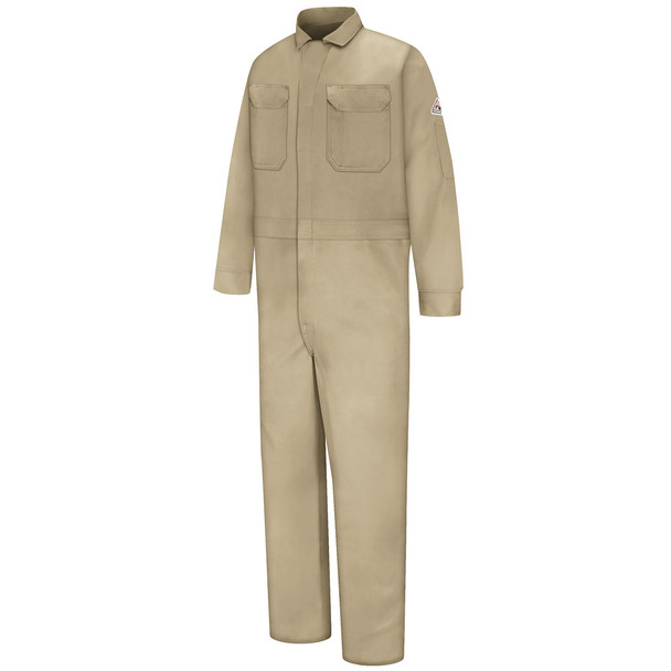 Bulwark FR Excel Classic Coveralls CED2 Khaki Front