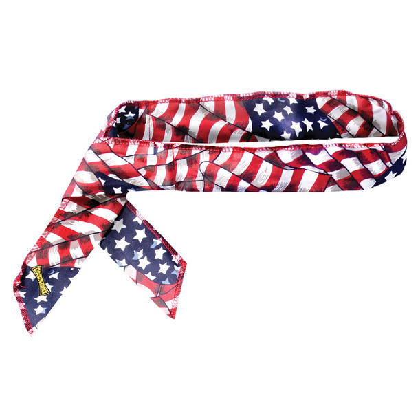 Occunomix Pack of 12 Miracool Neck Wrap 940 Wavy Flag