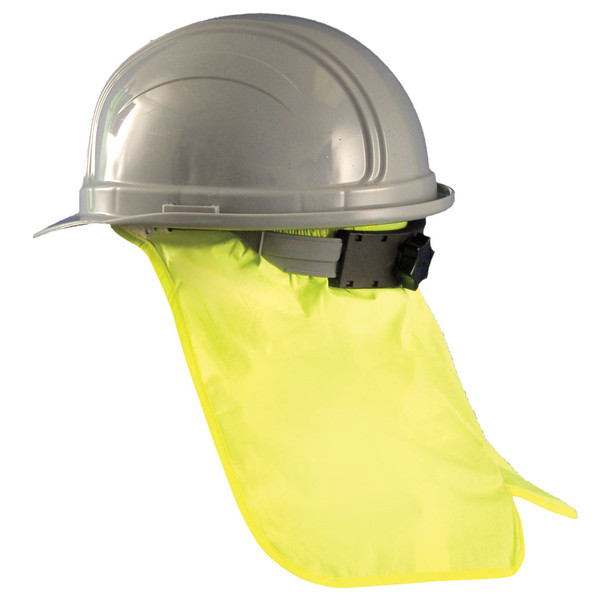 Occunomix Pack of 6 Hard Hat Neck Shades 971 Yellow