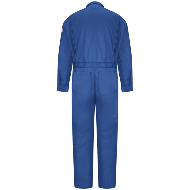Bulwark FR Comfortouch Coveralls CLD4 Royal Back