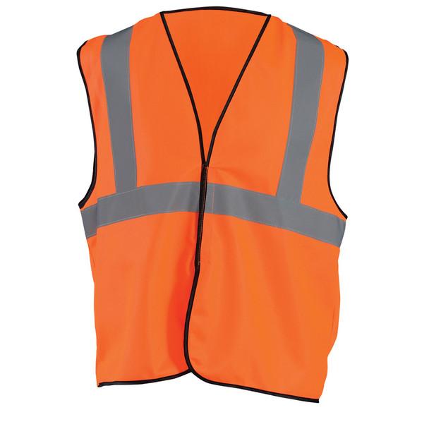 Occunomix Class 2 Hi Vis Economy Safety Vest ECO-G Orange Front
