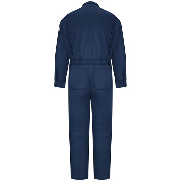 Bulwark FR 6 oz. Nomex IIIA Coveralls CNB6 Navy Blue Back